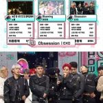 EXO、「音楽中心」1位……「EXO-L、愛してる」