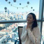 """「嬉しかった」女優コ・アラ、8か月ぶりにカムバック…雪のような""""清楚美"""""""