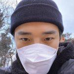 """2PMジュノ、久しぶりのあいさつ!""""胸がすっきりしました。風に吹き飛ばされそうになった"""""""