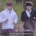 【トピック】キム・ジェジュン(JYJ)、先輩俳優チソンとのランニングの様子を公開