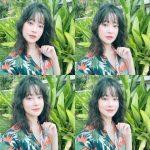 <トレンドブログ>女優オ・ヨンソ、透明感のある桃メイクで女神美貌..清純さあふれる
