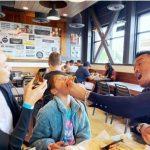 <トレンドブログ>SHIHO、サランちゃんの豪快なピザモクパン…ラブリー家族の外食