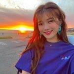 <トレンドブログ>女優キム・ユジョン、夕日よりも眩しいとびっきり笑顔で近況を伝える!