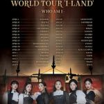<トレンドブログ>「(G)I-DLE」、初のワールドツアー開催決定!世界32の都市を巡る!