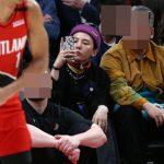 <トレンドブログ>「BIGBANG」G-DRAGON、NBAポートランド競技場でキャッチ..直観するまなざし
