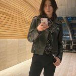<トレンドブログ>ノ・ミヌ、レザージャケット着てシックさ爆発..長髪イケメンの定石