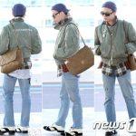 「BIGBANG」G-DRAGON、個性的なファッションで空港に登場