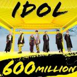 「防弾少年団」、「IDOL」MVも再生回数6億回突破…韓国歌手最多の6億回6作