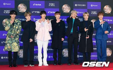 「防弾少年団」、1月もアイドル100大ブランド評判1位…2位「Red Velvet」、3位「EXO」