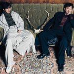 ハ・ジョンウ&キム・ナムギル、グラビアで強烈なダークセクシーさを表現、映画「クローゼット」で共演