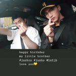 "2PM Jun.K、ジュノのバースデーで近況報告!""happy birthday my little brother """
