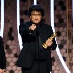 映画「パラサイト」、韓国初のゴールデングローブ賞受賞