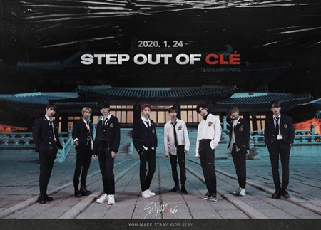 「Stray Kids」、初の英語アルバム「Step Out of Cle」団体写真を公開