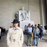 イ・ビョンホン、ワシントンから近況報告、リンカーン記念館を訪れる