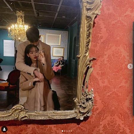 女優キム・ジナ、バレーボール選手イ・テホと公開熱愛…デート認証「私の恋人」