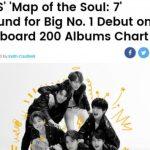 防弾少年団(BTS)新譜が米・英チャートで1位へ…K―POP史に新たな1ページ
