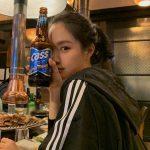 """<トレンドブログ>「Apink」ソン・ナウン、""""お肉にはビールだよね""""..ナチュラルな清純美爆発"""