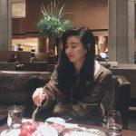"""<トレンドブログ>女優キム・サラン、童顔女神の最強ビジュアル..""""今暴食中"""""""