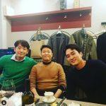 <トレンドブログ>PSY、RAIN(ピ)&ソン・スンホンと会食現場公開!!