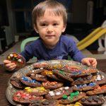 """<トレンドブログ>ベントレーくん、バレンタインデーを迎えチョコクッキー""""モクパン""""…胸キュン注意超キューティービジュアル"""