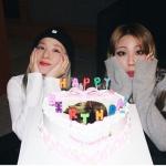 <トレンドブログ>元「2NE1」DARAがCLの誕生日をお祝い…今でも仲いい2人。