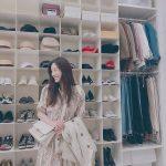 女優チョン・リョウォン、高級ショップを彷彿とさせるドレスルーム写真公開