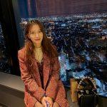 <トレンドブログ>「KARA」出身パク・ギュリ、夜景よりさらに輝く美貌☆