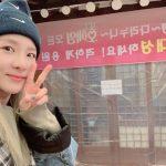 DARA(元2NE1)、D-LITE(BIGBANG)が贈った参鶏湯に「感動」