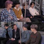 防弾少年団(BTS)、「ザ・トゥナイト・ショー」ニューヨーク地下鉄インタビュー公開