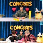 2PMウヨン、除隊記念V LIVE配信…ニックン&Jun.K、サプライズで登場