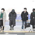 「PHOTO@仁川」防弾少年団(BTS)、NYに向けて出国!圧巻の存在感でランウェイ