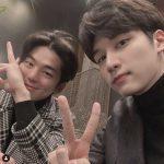 「VIXX」ヒョギ&俳優キム・ミンギュ、イケメン2ショット公開でファン悶絶
