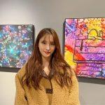 <トレンドブログ>パク・ギュリ、展示会観覧中の女神ビジュアル…さらに綺麗になったね