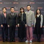 「PHOTO@ソウル」チュ・ジフン、ペ・ドゥナ&リュ・スンリョンらと共に「キングダム2」制作発表会に出席