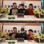 CNBLUEジョン・ヨンファ、カン・ミンヒョク&イ・ジョンシンの除隊を祝うために登場