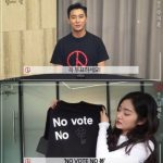 """俳優チュ・ジフン、国会議員総選挙の投票を促す""""投票しなければ人生もない""""(動画あり)"""