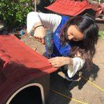 イ・ヒョリ(Fin.K.L)、新たなボランティア活動に参加…捨てられた動物の家作りに参加