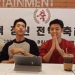 「CNBLUE」カン・ミンヒョク&イ・ジョンシン、生配信で除隊後緊張のコメント「カメラの前はぎこちない」