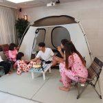 サッカー選手イ・ドングク、5兄弟と緊急室内キャンプ