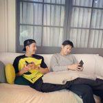 【トピック】「CNBLUE」イ・ジョンシン&カン・ミンヒョク、仲良しな2ショットが話題