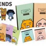 【情報】韓国で生まれた、コミカルな表情が愛される人気キャラ 『カカオフレンズ』のステーショナリーが登場! ライアン・アピーチなど3月下旬より順次展開