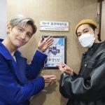 東方神起ユンホ、チャンミンのソロデビューを応援…温かい友情ショットが話題