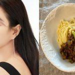 """<トレンドブログ>女優キム・サラン、自ら作ったチャジャン麺で""""ブラックデー""""をお祝い"""