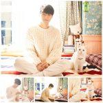 キム・ミョンス(INFINITEエル)&猫のベギ、休憩時間も一緒の深い友情…名コンビ大公開「おかえり」
