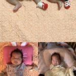 FTISLANDチェ・ミンファンの妻ユルヒ、靴下を片方だけ脱いだ双子公開「そうだ。君たち双子なんだ」