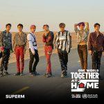「SuperM」、レディ・ガガ&WHO主催オンラインチャリティーコンサートに参加