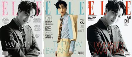 """「EXO」KAI、3か国のファッション誌で同時に表紙""""独歩的な影響力"""""""