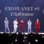 「EXO」、5回目の単独コンサート画報集×ライブアルバムパッケージを4月12日に発売
