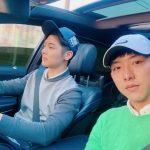 """CNBLUEカン・ミンヒョク、ジョンシンと共にした近況公開…""""可愛いジョンシン~"""""""