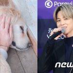 BTS(防弾少年団)ジミン、愛犬と一緒に新型コロナ拡散防止に賛同